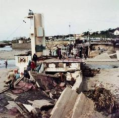 Port Elizabeth of Yore: The Great Flood of September 1968 - The Casual Observer Port Elizabeth, Seafarer, Weather Conditions, Lighthouse, Landscape Photography, South Africa, Past, Om, Swimming