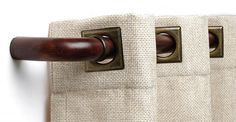 "Custom Select French Curtain Rod Set 1-3/16"" Diameter 