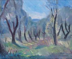 Charles Camoin - Paysage de Provence