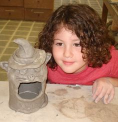 creative cllasses for children - art and sculpting