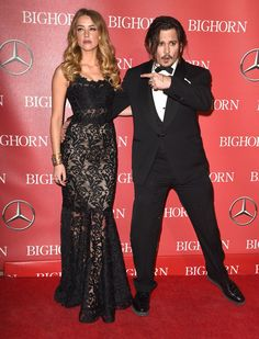 Johnny Depp Thanks His Wife, Amber Heard, For