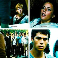Maze runner I love how Thomas Brodie-Sangster says that. Like what the heck is it?