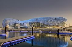 Building of the Year 2009, Hotels & Restaurants: The Yas Hotel / Asymptote #architecture