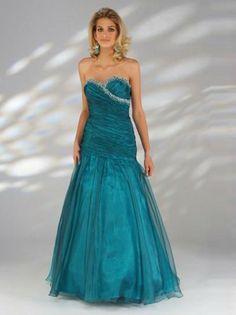 Prom Dress, Prom Dresses, 2014 Style A-line Sweetheart Ruffles Sleeveless Floor-length Organza Prom Dresses/Evening Dresses