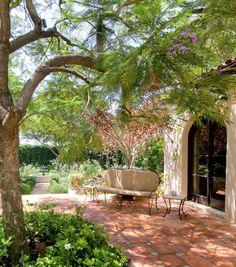 Love this Jacaranda shade . Art Luna's gardens.