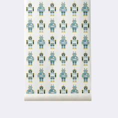 Robots Wallpaper | Ferm Living WP203