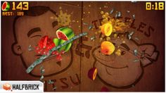Top iPhone Game #127: Fruit Ninja - Halfbrick Studios by Halfbrick Studios - 05/01/2014
