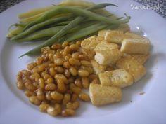 sojove bobky+tofu