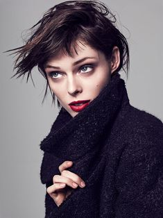 Coco Rocha Is In Control, Lensed By Mikael Schulz For Allure Korea November 2014 - 3 Sensual Fashion Editorials | Art Exhibits - Anne of Carversville Women's News