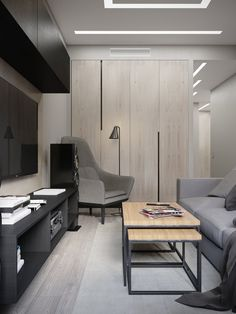 Linear Lighting, Small Living Rooms, Interior Design, Architecture, Table, Projects, Inspiration, Furniture, Home Decor
