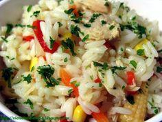 Receta Entrante : Ensalada mediterránea de arroz por Bast