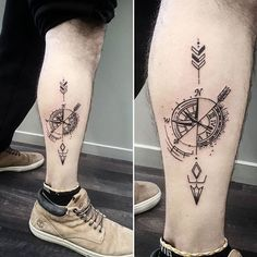 A cool abstract compass/ clock on a lovely French man this afternoon