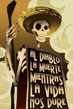 DIA DE MUERTOS poster by rodolforever.deviantart.com