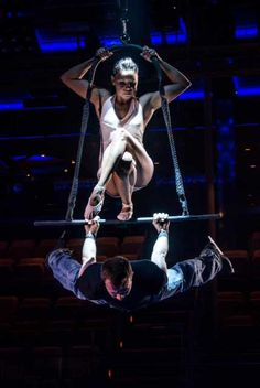 Ice Trapeze Show Act  http://icetrapeze.com/video_promo.html Awesome!