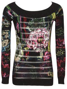Pull DESIGUAL Noir 37J2101 ANNA pour Femme sur Des marques et vous