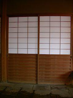 sliding screens or shoji