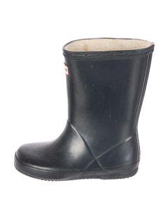 Hunter Girls' Round-Toe Rain Boots #Hunters