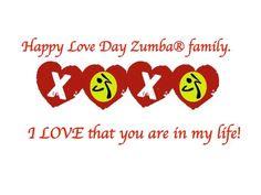 V day zumba love