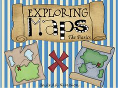 exploring maps unit- pirate themed! A must have for my classroom!