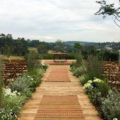 Decoração de casamento no campo com toque outonal - Constance Zahn   Casamentos