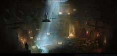 Discover the Art of Gilles Beloeil senior concept artist at Ubisoft Montreal, working on Assasin's Creed video games.