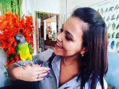 Manu e o periquito do Senegal. Interação e harmonia com as aves. #exoticvet #passaros #parrot #birds #petsgoiania #passaros #clínica #veterinario #silvestres #exóticos #avelegalizada #amor #natureza #dedicação by exoticvet_goiania http://www.australiaunwrapped.com/