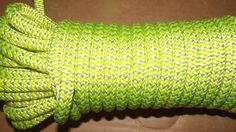 "NEW 7/16"" (11.1mm) x 49' 24-Strand Arborist Climbing Rope Double Braid"