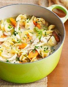 Low Iodine Diet   Quick Chicken Noodle Soup  low iodine diet recipes chicken recipes