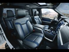 2012 ford f 150 svt raptor interior