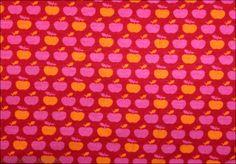 JERSEY * Apfel Elli rot FAT * Kinderstoffe * Naturstoffe