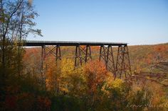 IMG#5630-Part of the Kinzua Railroad Bridge in Mt Jewett, Pennsylvania...no longer in service as you can see from the remnants on the ground.  Oct 10, 2010.