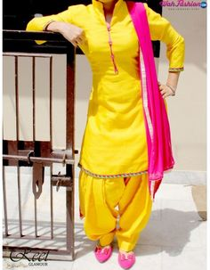 Give yourself a stylish & punjabi look with this Entice Yellow Punjabi Suit . Embellished with embroidery work & lace work. Available with matching bottom & dupatta. It will make you noticable in special gathering. For more details whatsapp us: +919915178418