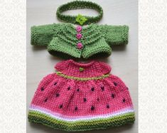 Knitted Doll Clothes Set 12 Inch Doll Outfit for Stuff Toy Clothing Knit Rabbit Doll Clothes Dress for Stuff Easter Toy Gift