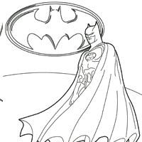 Batman Coloring Pages Surfnetkids