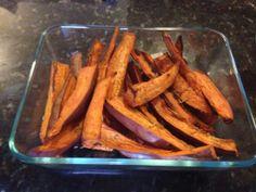 MY RECIPE! Magical sweet potato fries! Glutardsunite.com