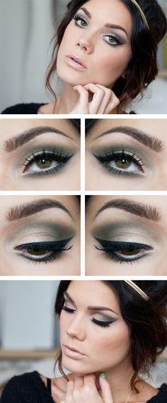 Linda Hallberg make up Gorgeous Smoky eye # makeup Pretty Makeup, Love Makeup, Makeup Tips, Daily Makeup, Makeup Blog, Makeup Style, Makeup Products, Linda Hallberg, Black Makeup