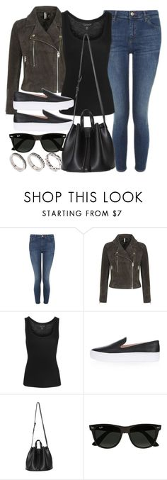 """Style #11617"" by vany-alvarado ❤ liked on Polyvore featuring Topshop, Ray-Ban and ASOS"