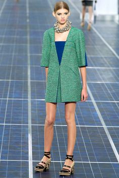 Chanel Spring 2013 RTW - Review - Fashion Week - Runway, Fashion Shows and Collections - Vogue - Vogue