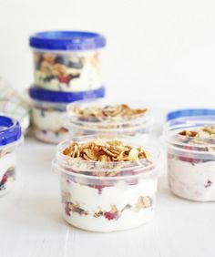 Fruit & Yogurt Parfait - Healthy Make-Ahead Breakfast Recipes To Keep You Energized - Photos