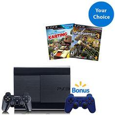 PS3 Gamer Bundle - $55 Value! THE BUNDLE I GOT GOING ON OVER HERE FOR MY BIRTHDAY IS KILLING EM! 6/10/13 HERE I COOOOMMMMMMMMMME!!!!!!!!!!!