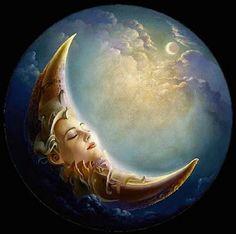 Night Sky Stars, Sun Moon Stars, Sun And Stars, Angel Artwork, Moon Fairy, Planets Wallpaper, Luna Moon, Moon Pictures, Paper Moon