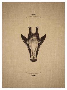 Jeep Giraffe(@)Afaqs!
