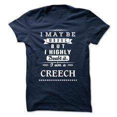 CREECH is the BEST TSHIRT 2015 T Shirt, Hoodie, Sweatshirt