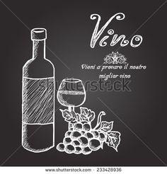 1000 images about chalk art on pinterest wine for Wine chalkboard art