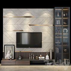 Tv Unit Interior Design, Wardrobe Interior Design, Bedroom Furniture Design, Apartment Interior Design, Living Room Wall Units, Living Room Tv Unit Designs, Lcd Wall Design, Wall Unit Designs, Modern Tv Wall Units