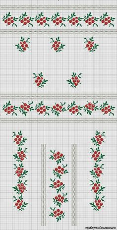 Gallery.ru / Фото #46 - схемы для вышиванок - zhivushaya