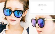 1bcbd71121bd 젠틀몬스터 앱센트 GENTLE MONSTER ABSENTE GOLD Col.01 BLUE MIRROR 블루미러. Mirrored  Sunglasses