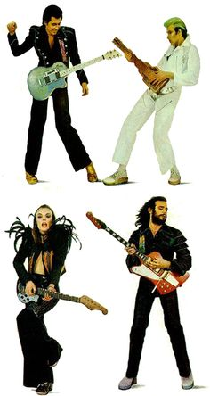 Roxy Music - the original glam rock band!