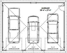 3 Car Garage Floor Plans Inspiration Decorating 39579