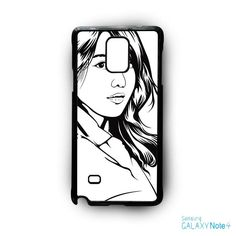 Korean Girls Scetch AR for Samsung Galaxy Note 2/3/4/5/Edge phonecase